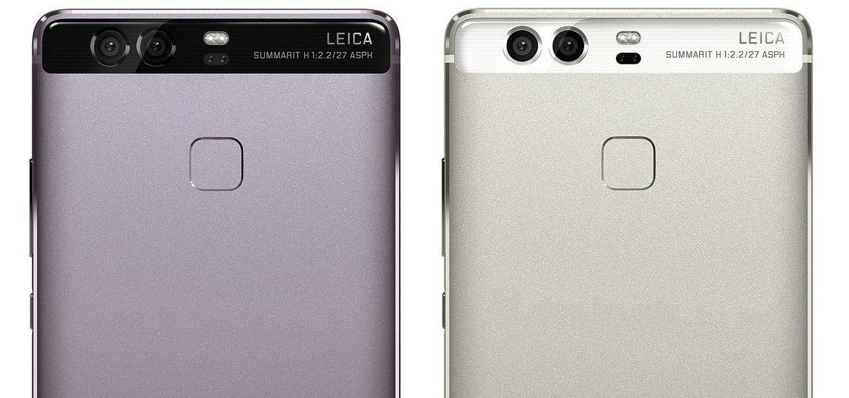 Huawei P9 - duální fotoaparát