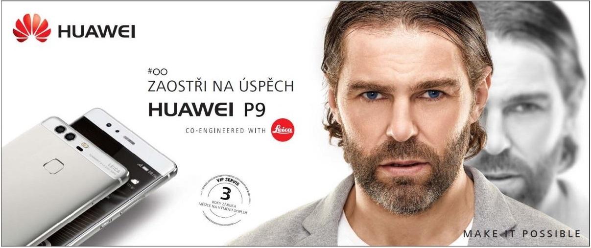 Mobilní telefon Huawei P9 – nová vlajková loď s VIP službami