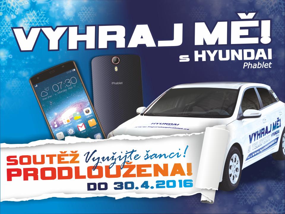 Zimní soutěž s Hyundai Phablet o automobil i20