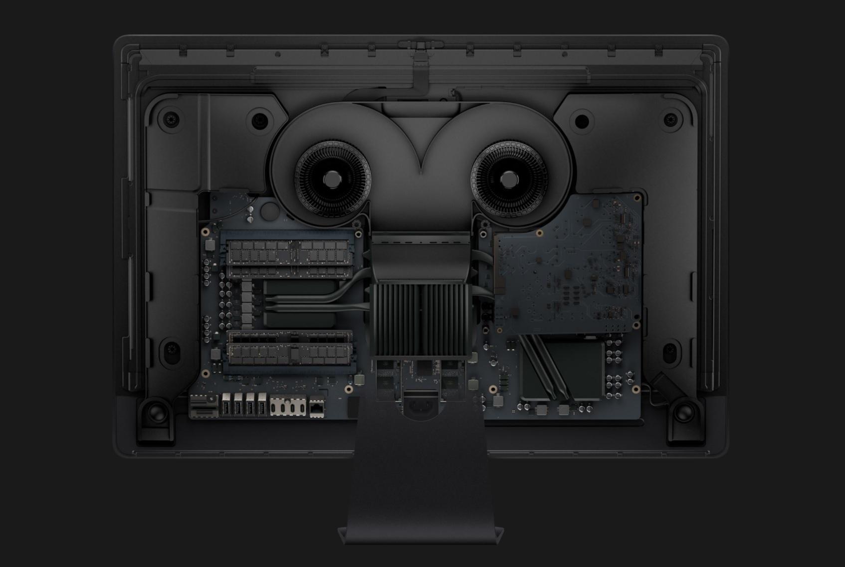 iMac Pro, komponenty