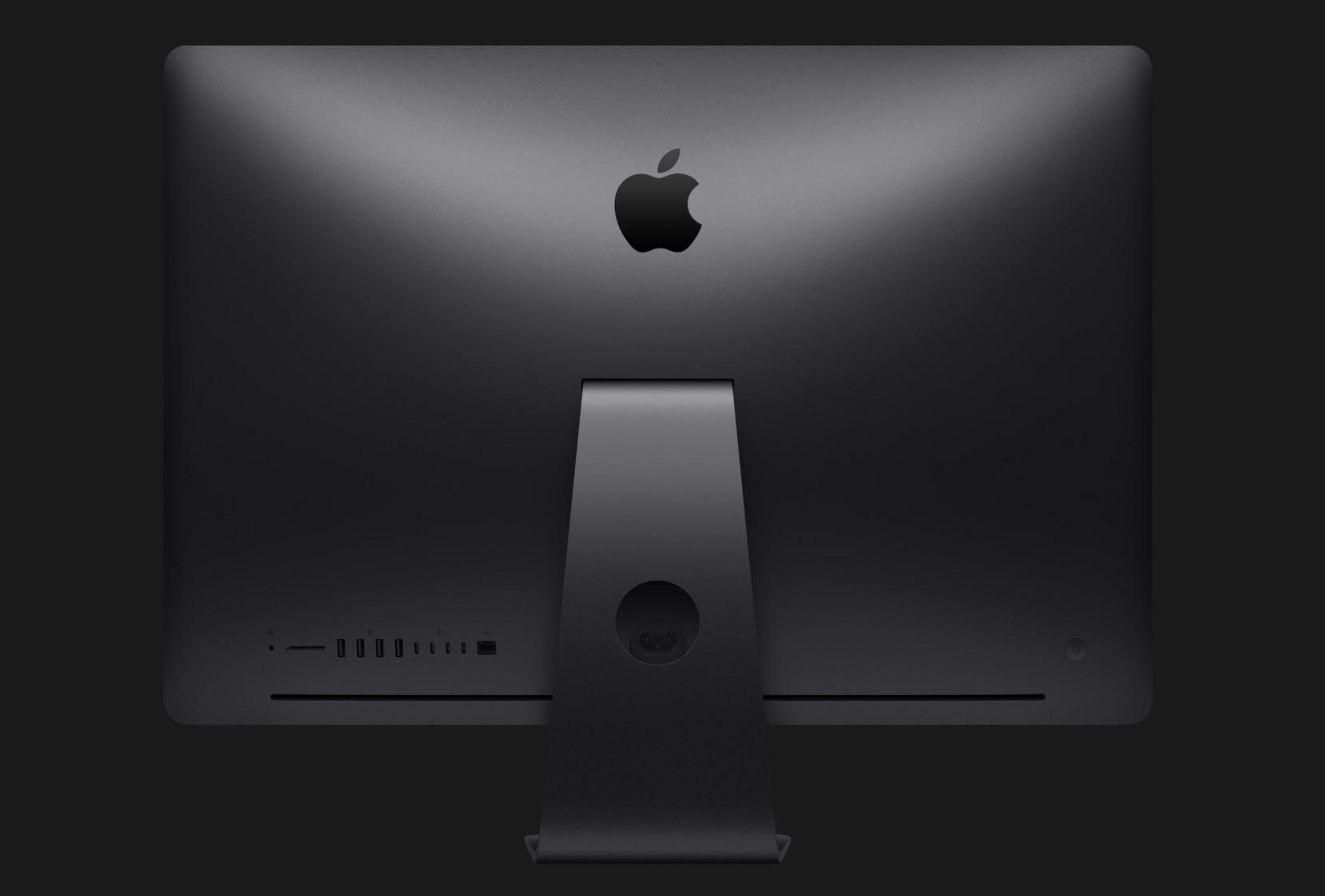 iMac Pro; konektory