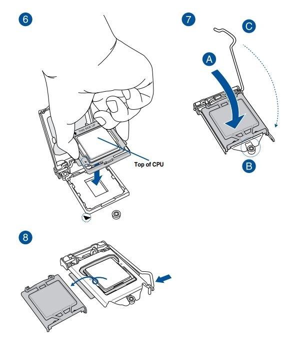 Jak sestavit PC. Instalace procesoru Intel do patice (socketu) základní desky