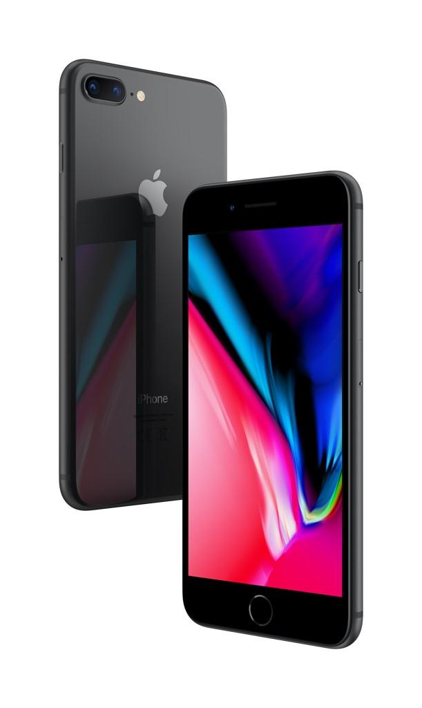 iPhone 8 Plus; černá