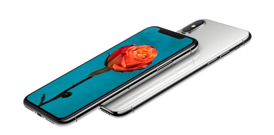 iPhone X; skleněná záda