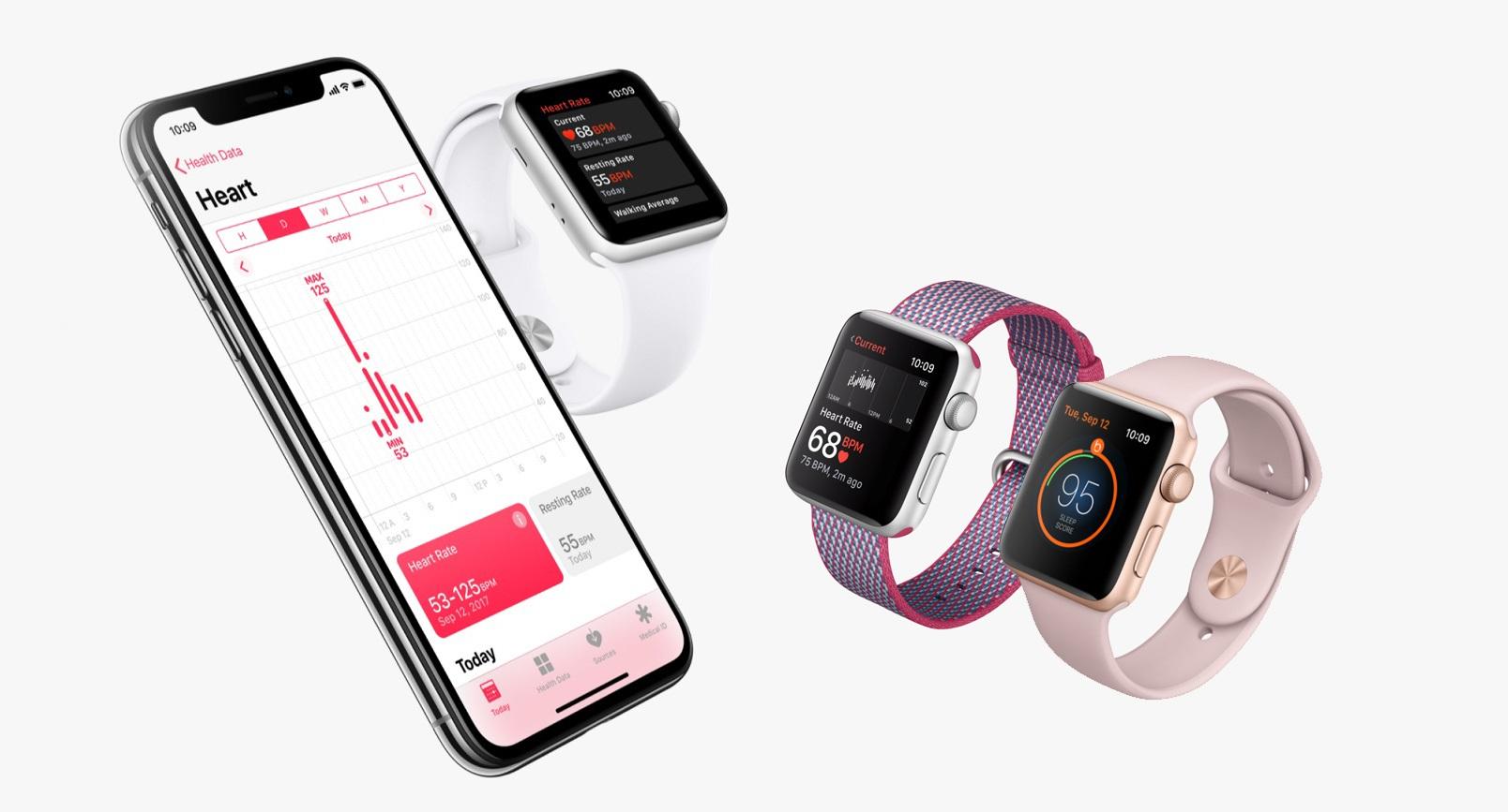 Apple Watch 3; iPhone X