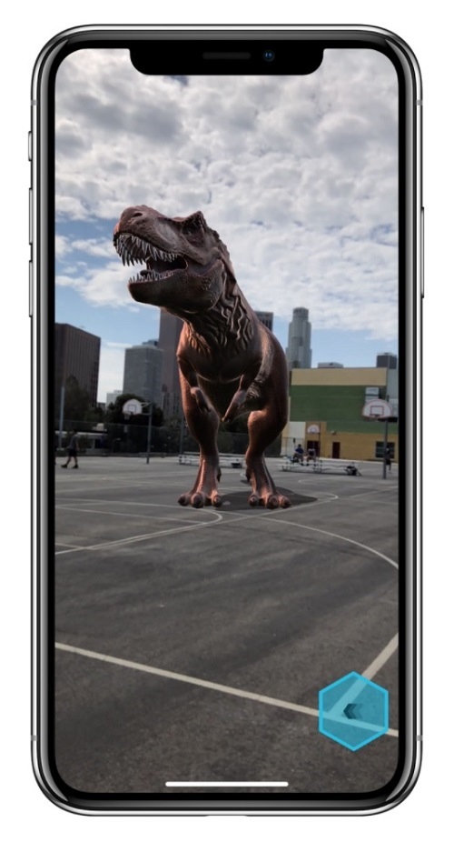 Rozšířená realita; iPhone X