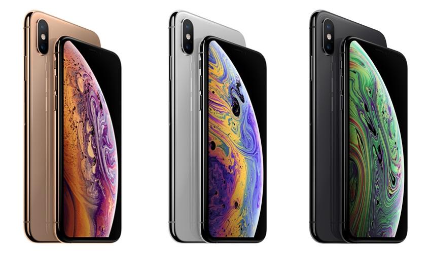 iPhone Xs Max; barvy