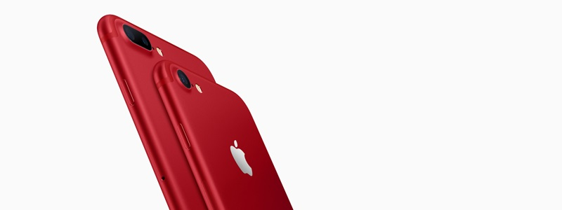 S červeným iPhonem 7 přispějete na dobrou věc