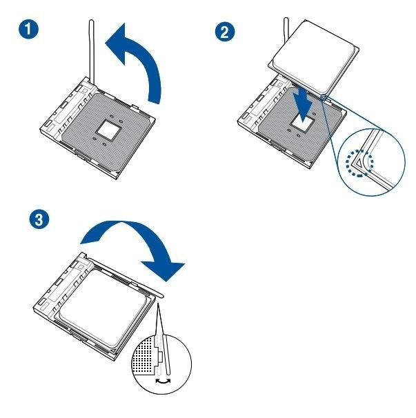 Jak postavit počítač. Návod, jak umístit procesor AMD do patice (socketu) základní desky