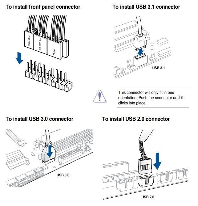 Jak sestavit PC. Jak zapojit kabeláž od počítačové skříně k základní desce