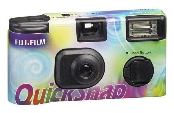 Jednorázový fotoaparát Fujifilm QuickSnap duhový 400/27