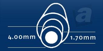 Konektor Dell; 4,00/1,70 mm