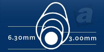 Konektor Toshiba, Nec; 6,30/3,00 mm