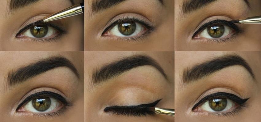Jak namalovat oční linky - krok za krokem