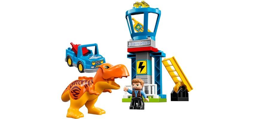 T. Rex;věž;auto;kanystr;Owen