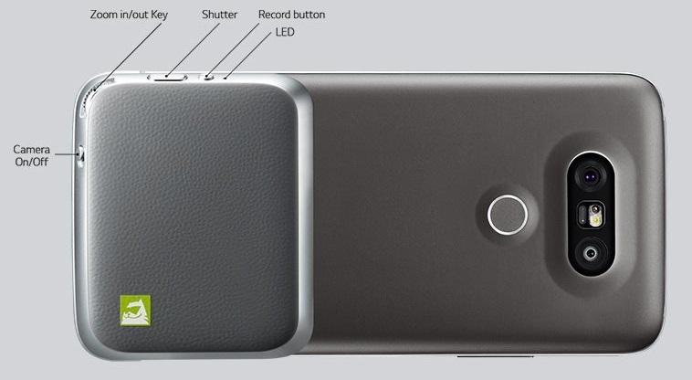 LG CAM Plus - výměnný modul na fotografování