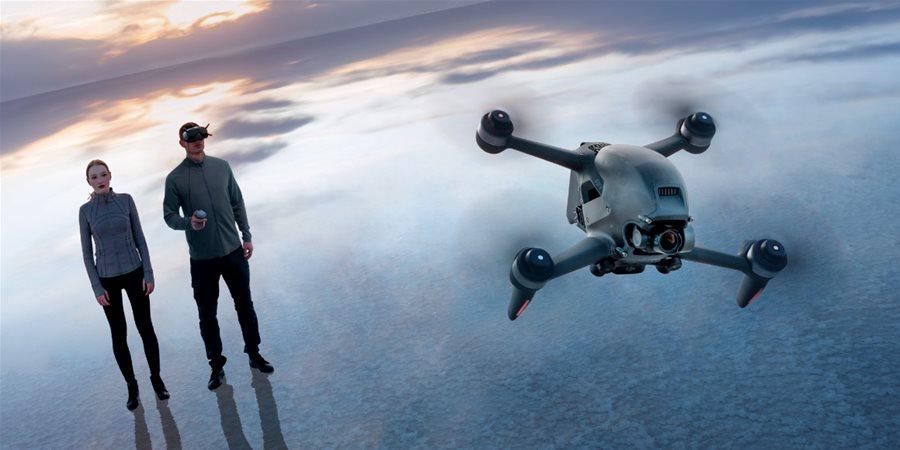 DJI FPV: létání z pohledu první osoby pro každého (NOVINKA)