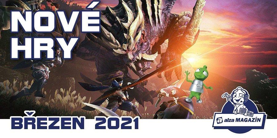 Nové hry: březen 2021 – Monster Hunter Rise, Stronghold: Warlords, It Takes Two a další