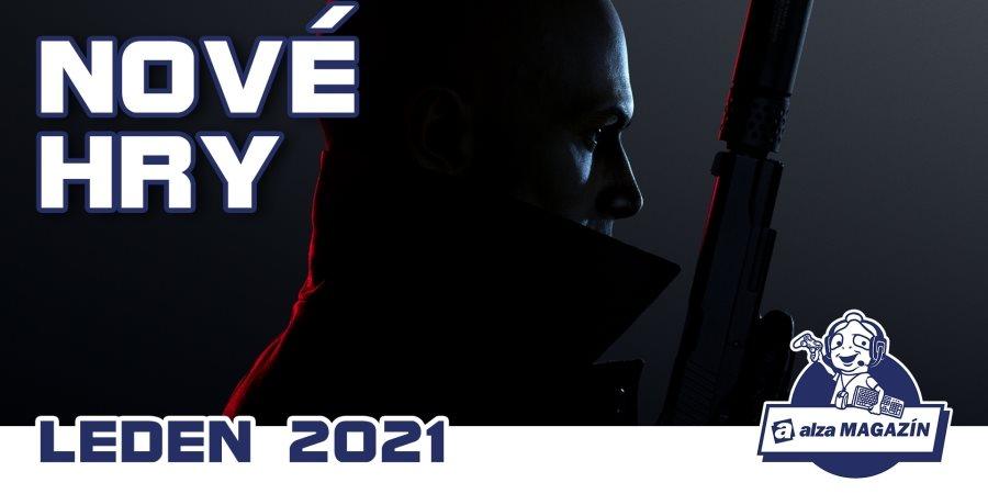 Nové hry: leden 2021 - Hitman 3, The Medium, Everspace 2 a další