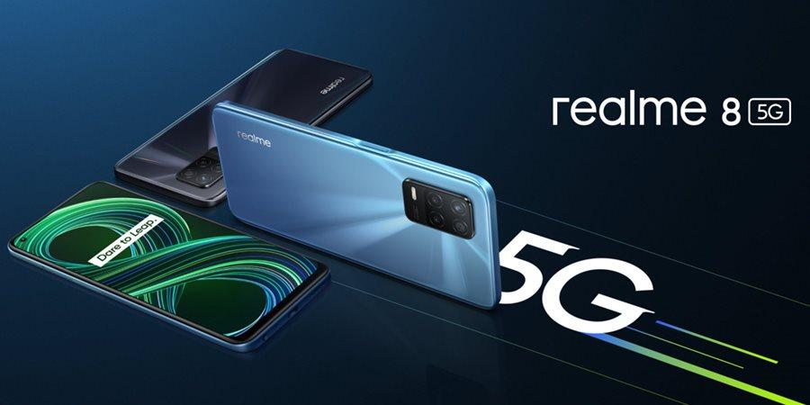 Realme 8 5G a C21 (PREVIEW): nejlevnější 5G telefon a základní mobil pro šetřivé