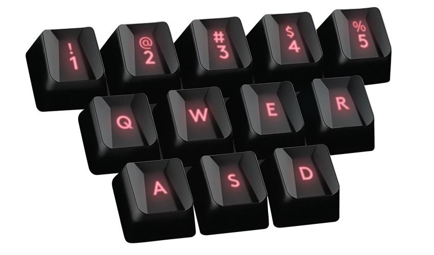 Logitech G413 má vyměnitelné klávesy