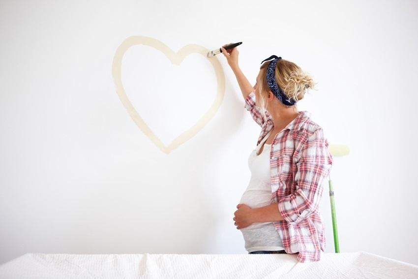 Příprava pokoje před příchodem miminka