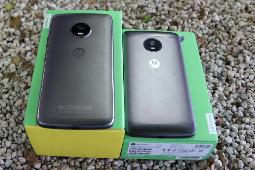 Moto G5 a Moto G5 Plus zezadu