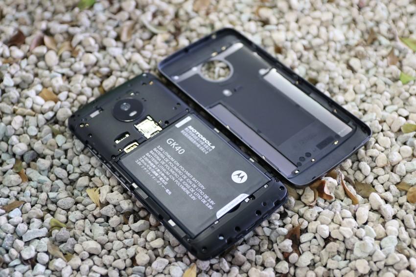 Moto G5 odnímatelný kryt