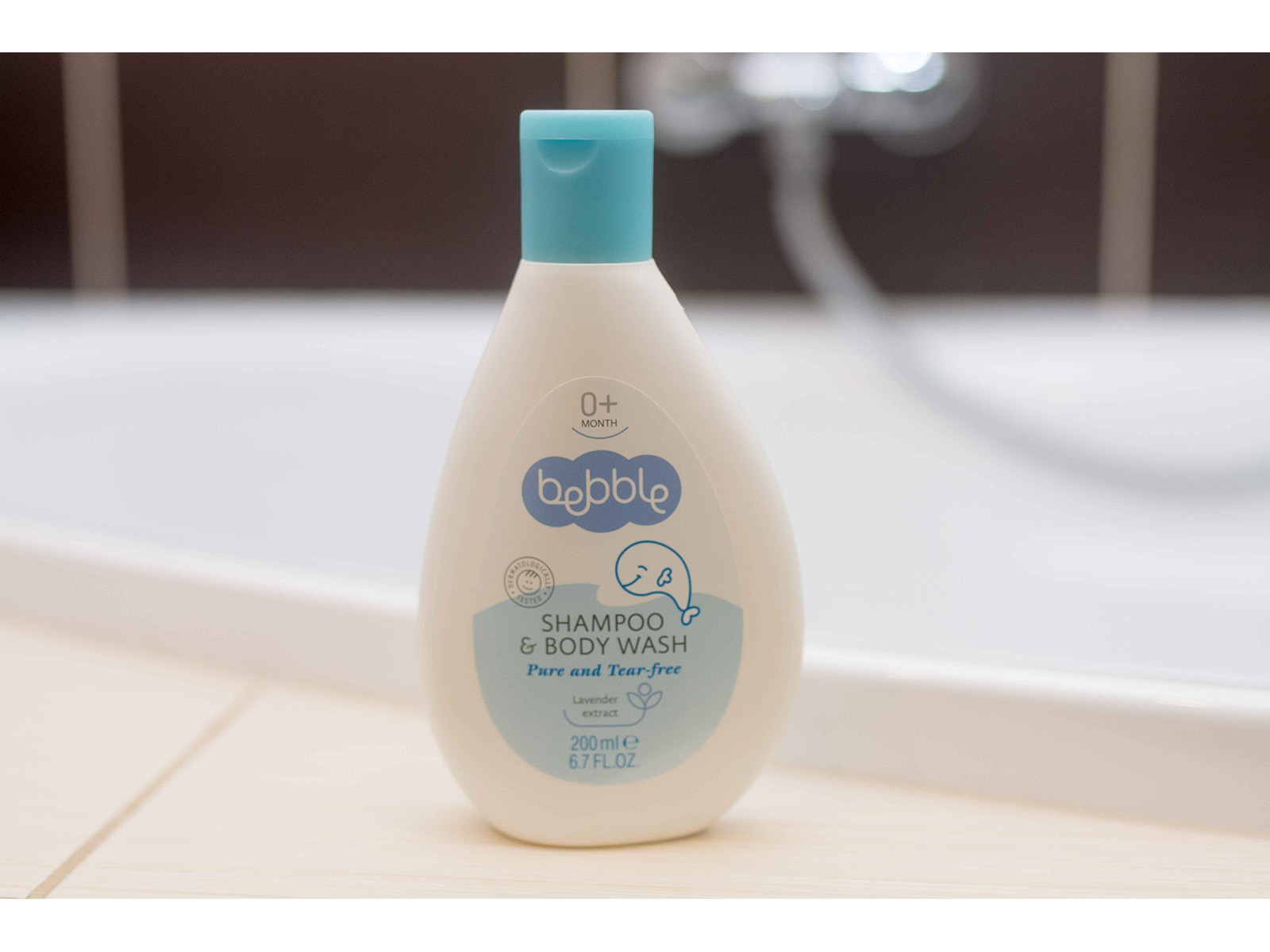 Šampon a mycí gel Bebble