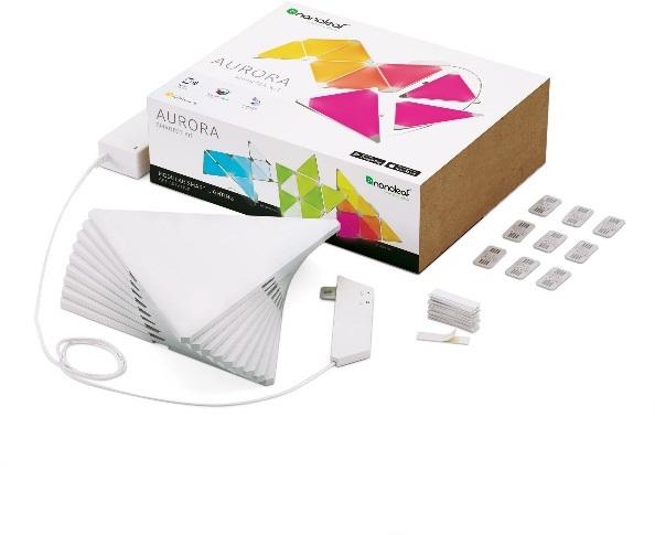 Nanoleaf Aurora; inteligentní osvětlení; obsah balení
