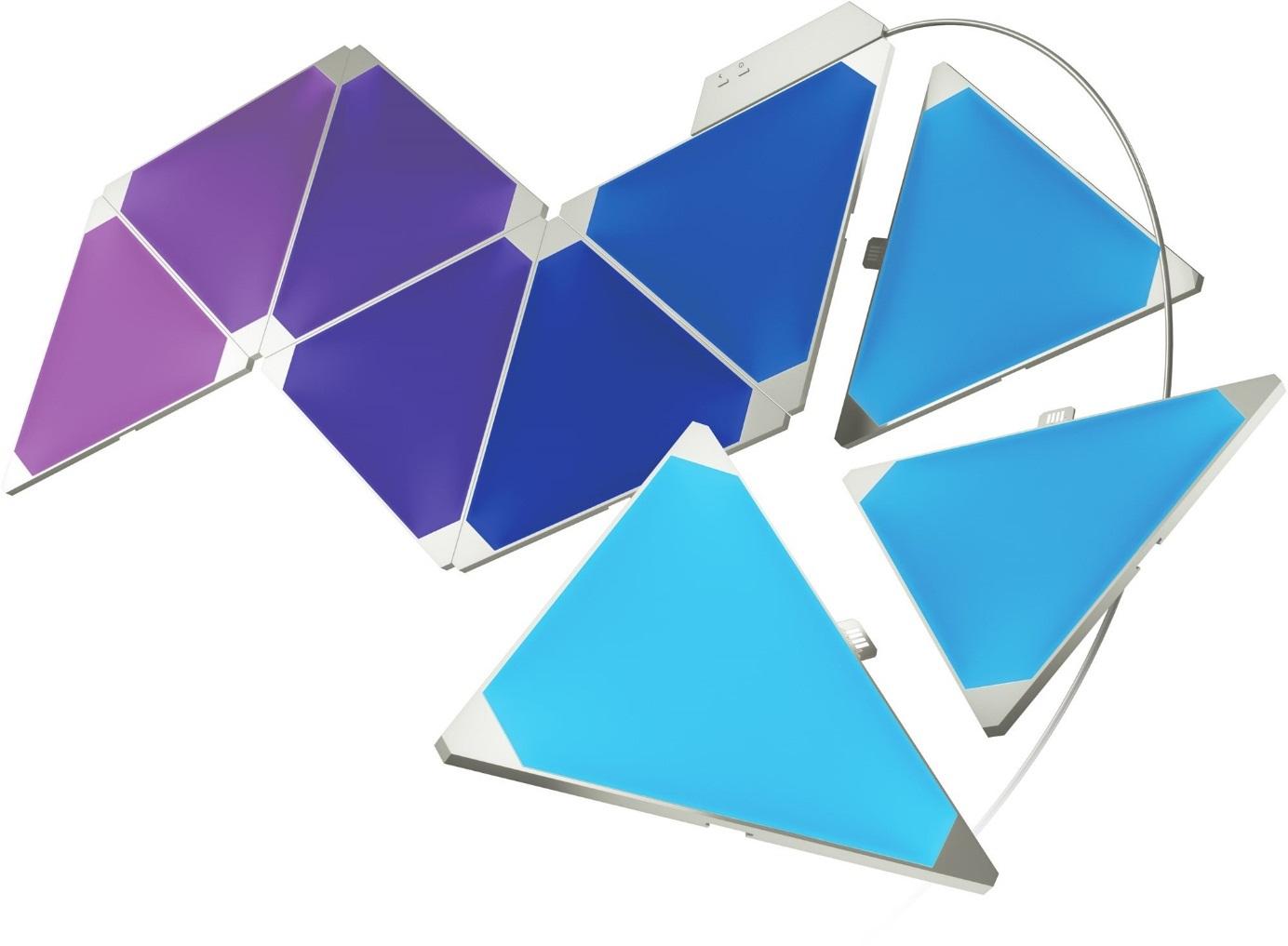 Nanoleaf Aurora; inteligentní osvětlení; rozšiřující moduly