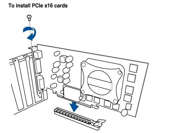 Stavba PC. Návod, jak zapojit grafickou kartu (GPU) do základní desky přes PCIe konektor