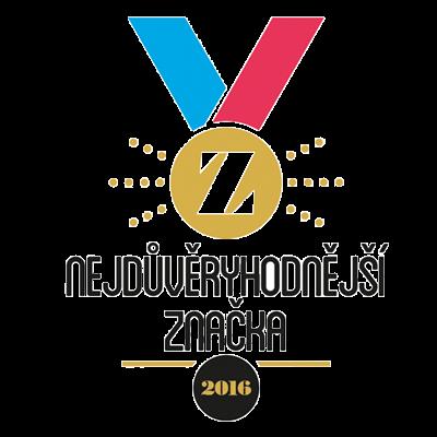 Logo nejdůvěryhodnější značky 2017