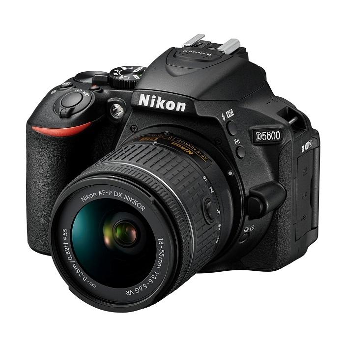 Nikon D5600 - produktová fotografie