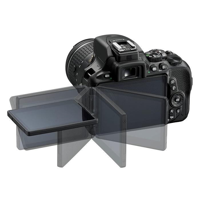 Nikon D5600 - možnosti výklopného LCD monitoru