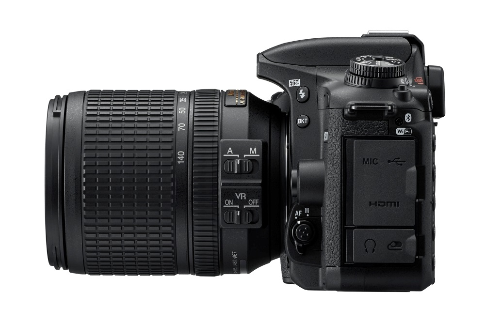 Nikon D7500, setový objektiv AF-S DX Nikkor 18-140mm f/3,5-5,6G ED VR