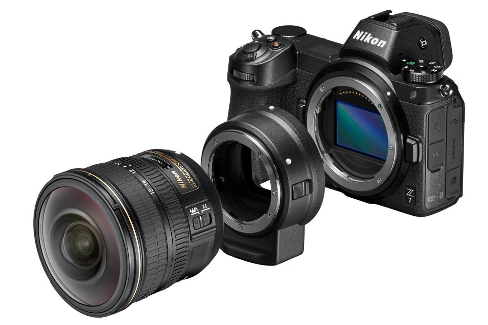 Nikon Z7 a Nikon Z6