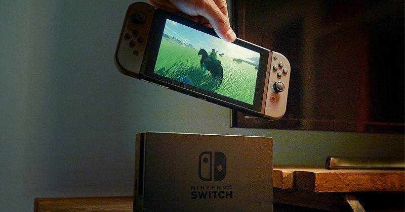 Nintendo Switch; handheld mód