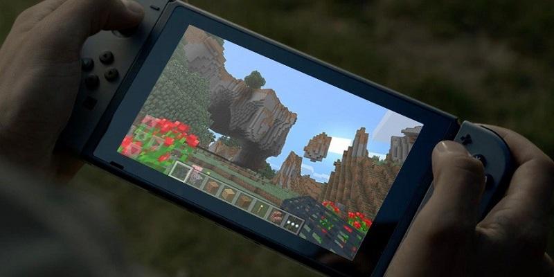 Nintendo Switch; Minecraft