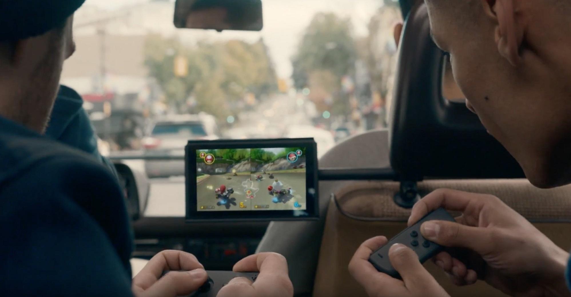 Nintendo Switch; herní konzole na cesty