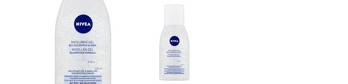 Micelární gel bez olejových složek Nivea