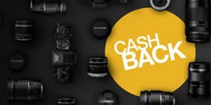 Cashback akce na fototechniku Olympus