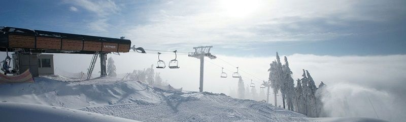Ski areál se nachází v Krušných horách u obce Abertamy