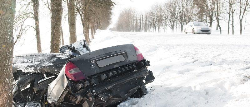 Autonehoda při cestě na hory