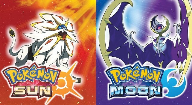 Pokémon Moon nad Sun, Solgaleo; Lunala