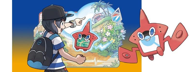 Rotom Pokédex, Pokémon Sun and Moon
