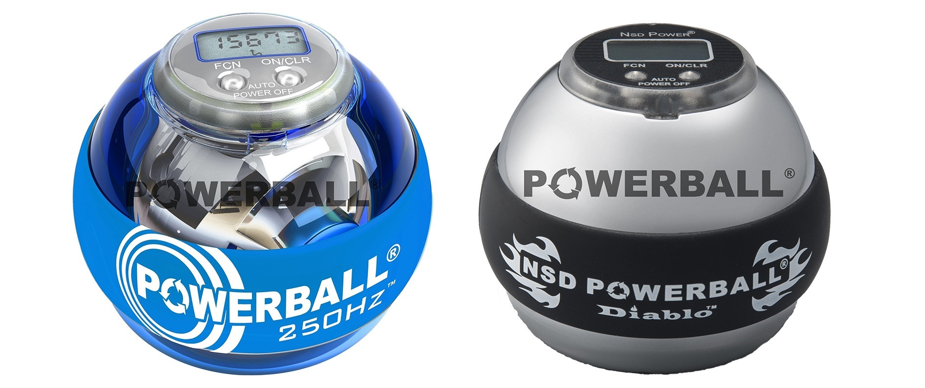 Powerball 250Hz Pro Blue a 350Hz Diablo Heavy