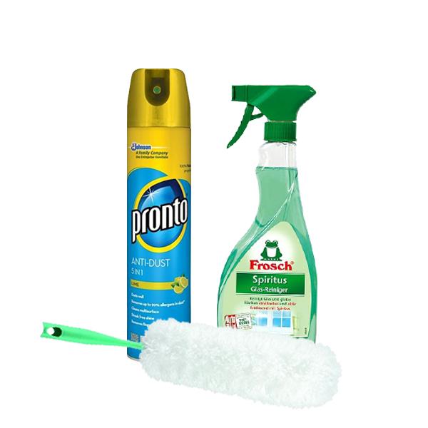 Utírání prachu