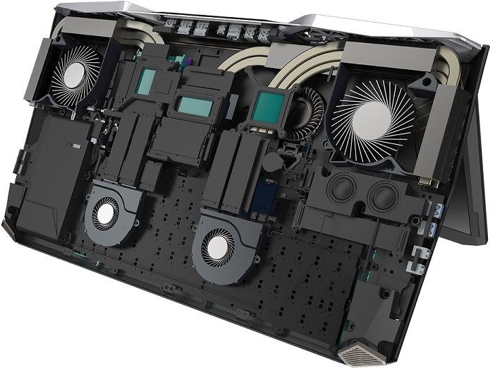 Acer Predator 21 X, herní notebook se zakřiveným displejem