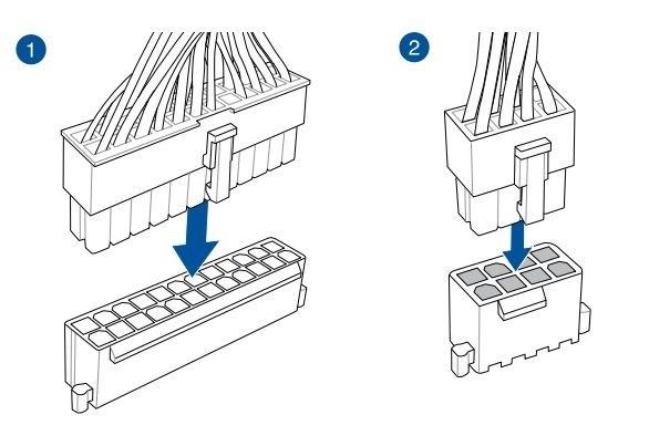 Jak postavit PC. Jak připojit napájecí zdroj k základní desce počítače